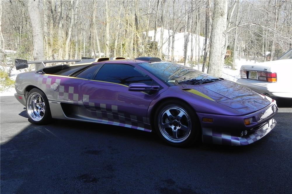 1991 LAMBORGHINI DIABLO 2 DOOR CUSTOM COUPE - Side Profile - 102593