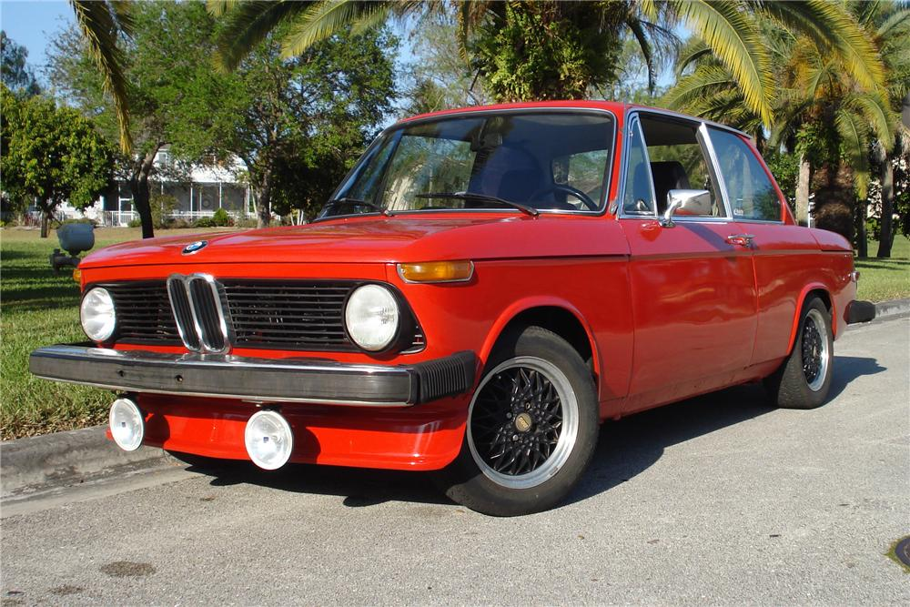 1976 BMW 2002 2 DOOR CUSTOM COUPE - Front 3/4 - 102633