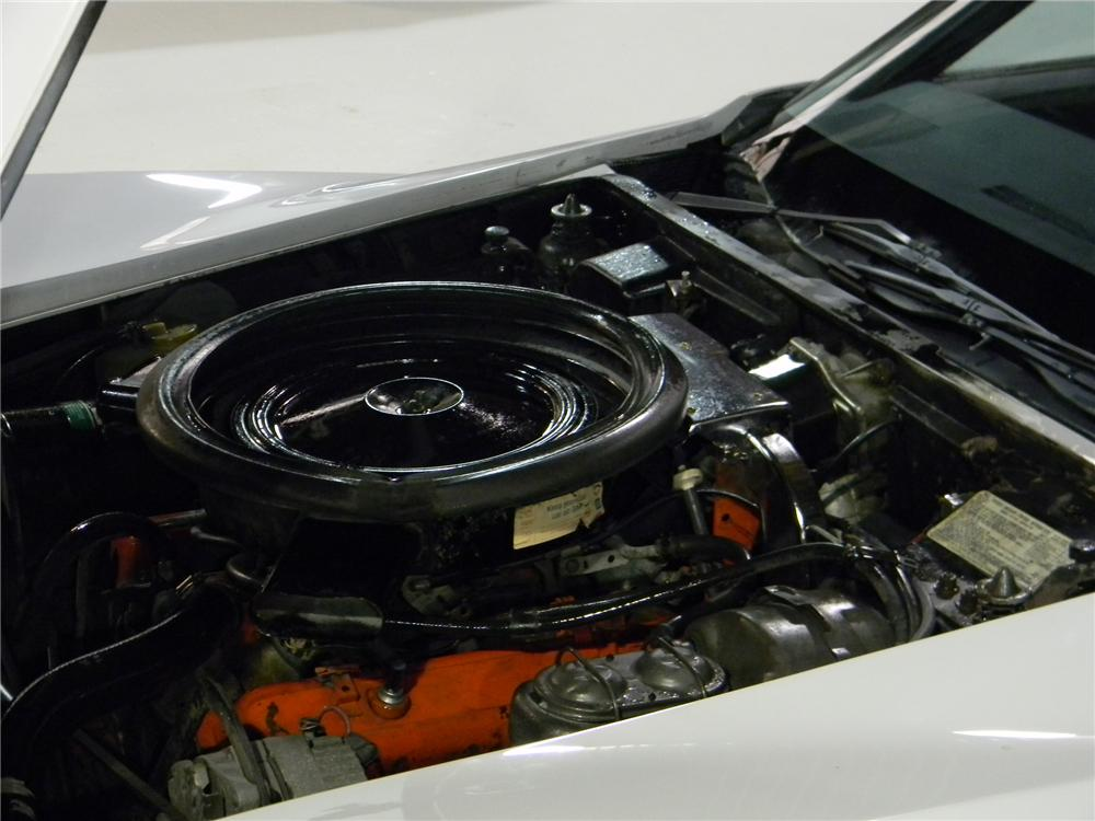1973 CHEVROLET CORVETTE COUPE - Engine - 102694