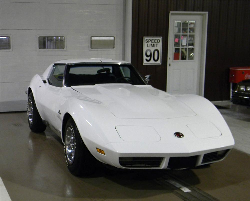 1973 CHEVROLET CORVETTE COUPE - Front 3/4 - 102694