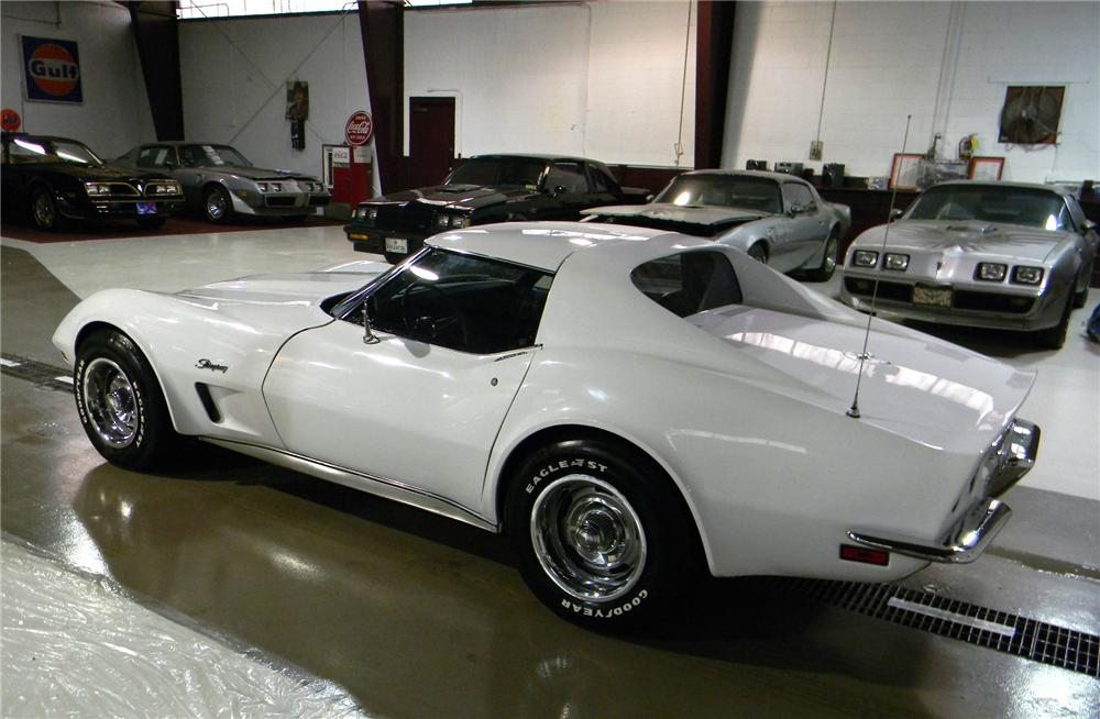 1973 CHEVROLET CORVETTE COUPE - Rear 3/4 - 102694