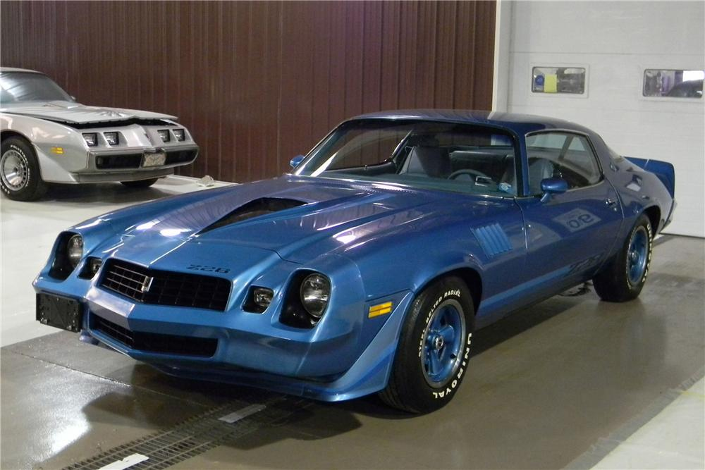 1979 CHEVROLET CAMARO Z/28 COUPE - Front 3/4 - 102713