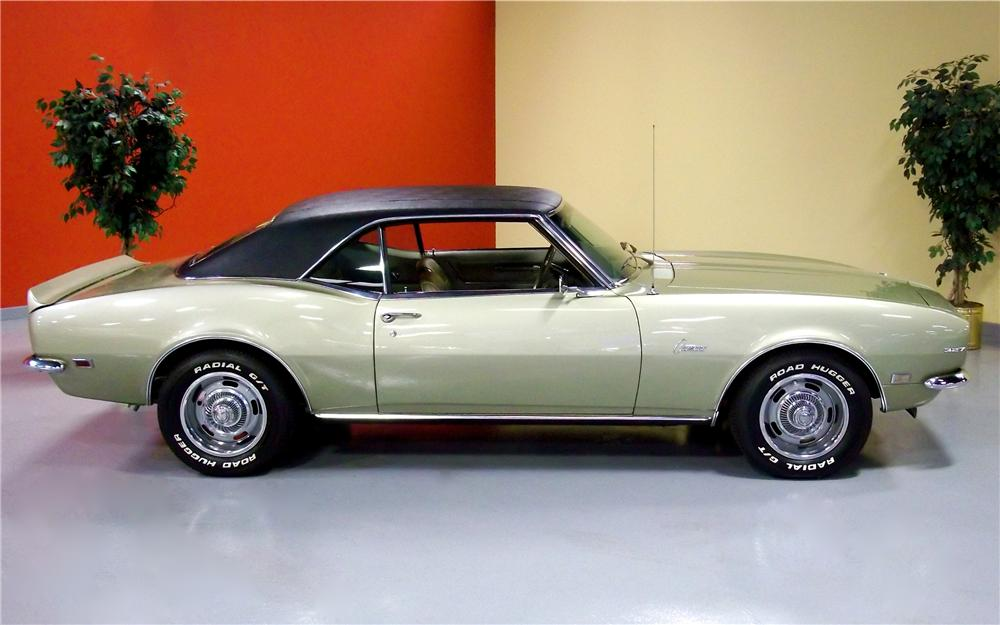 1968 CHEVROLET CAMARO 2 DOOR COUPE - Side Profile - 102714