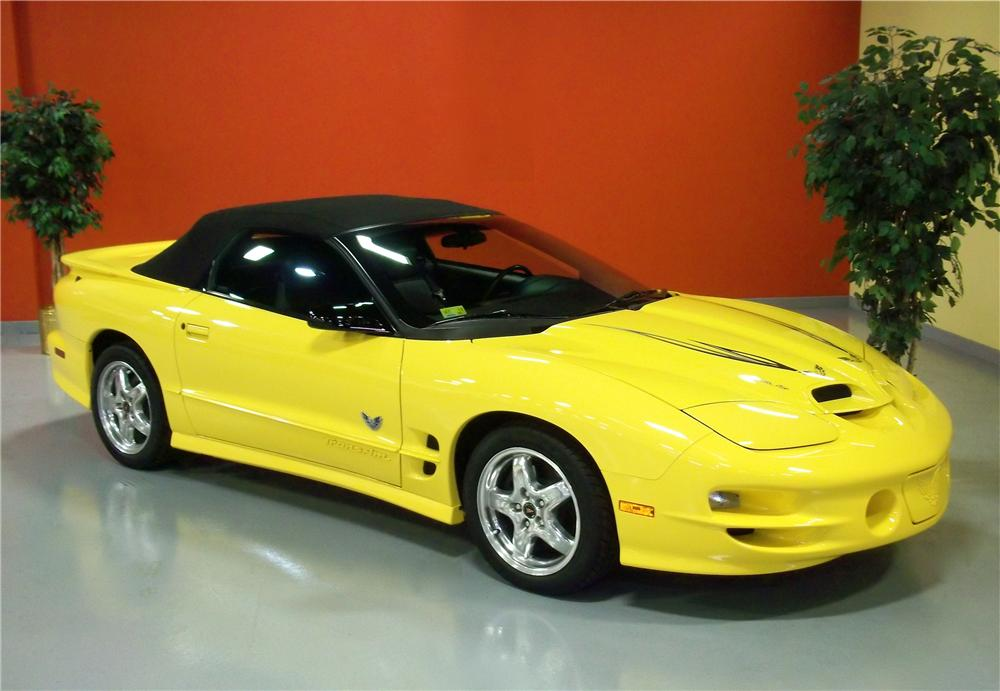 2002 PONTIAC FIREBIRD TRANS AM CONVERTIBLE - Front 3/4 - 102833
