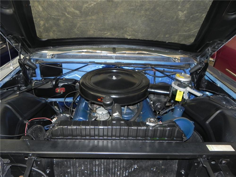 1960 CADILLAC SERIES 62 CONVERTIBLE - Engine - 102874