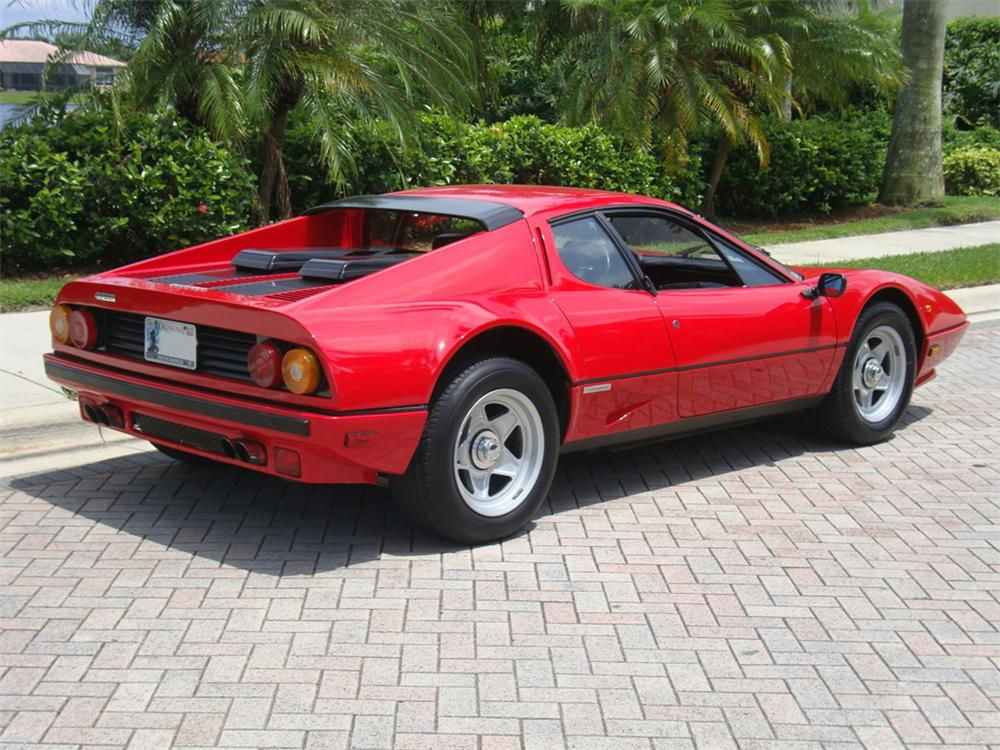 1984 FERRARI 512 BBI BOXER 2 DOOR - Rear 3/4 - 102913