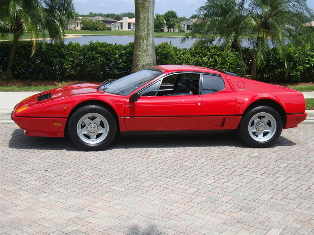 1984 FERRARI 512 BBI BOXER 2 DOOR - Side Profile - 102913