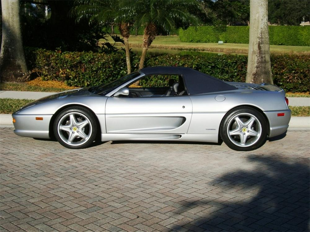 1998 FERRARI F-355 SPIDER - Side Profile - 102933