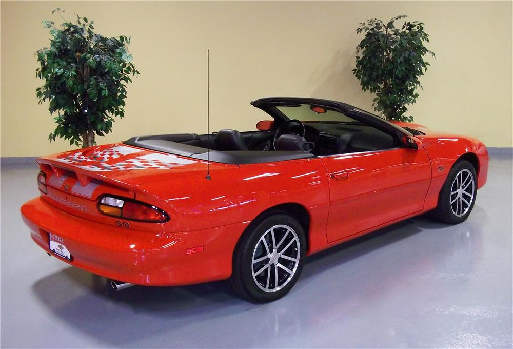 2002 CHEVROLET CAMARO SS 35TH ANNIVERSARY CONVERTIBLE - Rear 3/4 - 102974