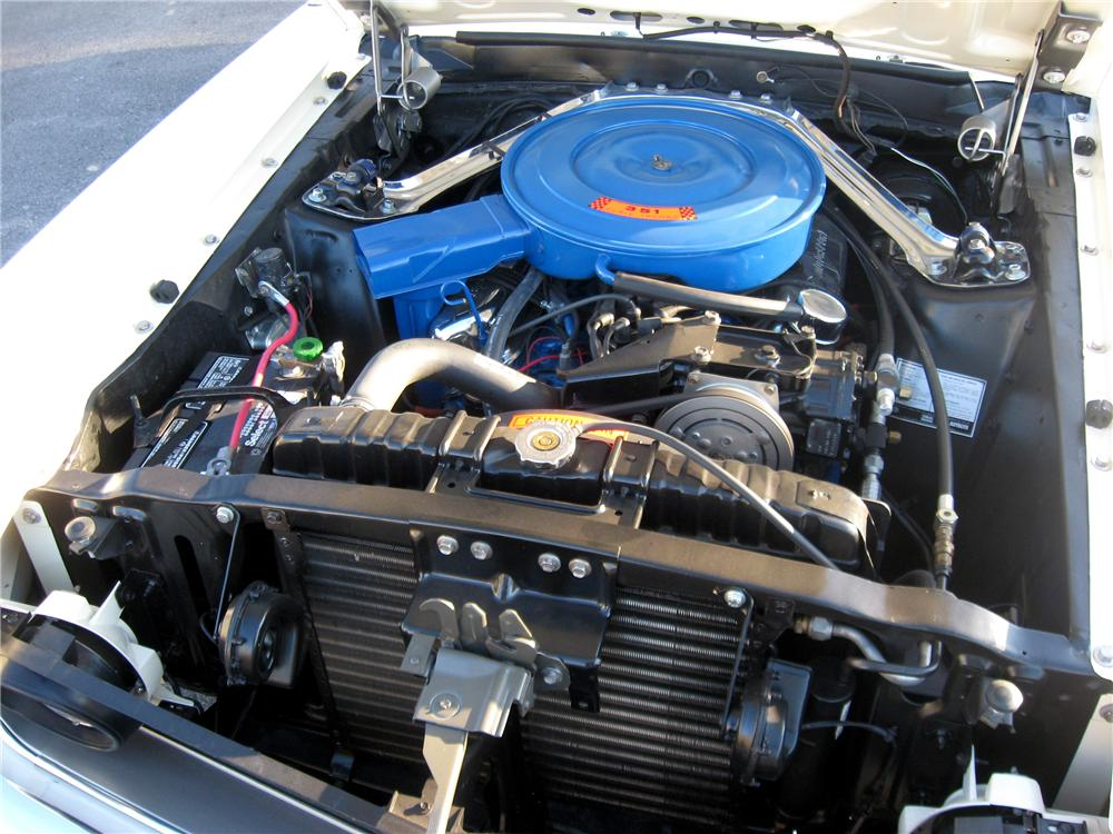 1969 FORD MUSTANG GRANDE COUPE - Engine - 102993