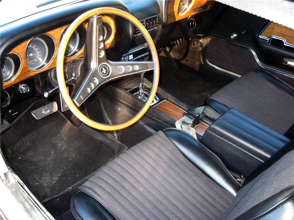 1969 ford mustang grande coupe interior 102993