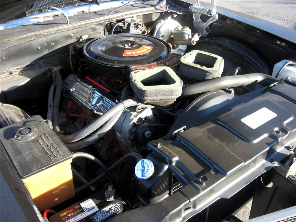1970 BUICK GS 455 STAGE 1 COUPE - Engine - 103013