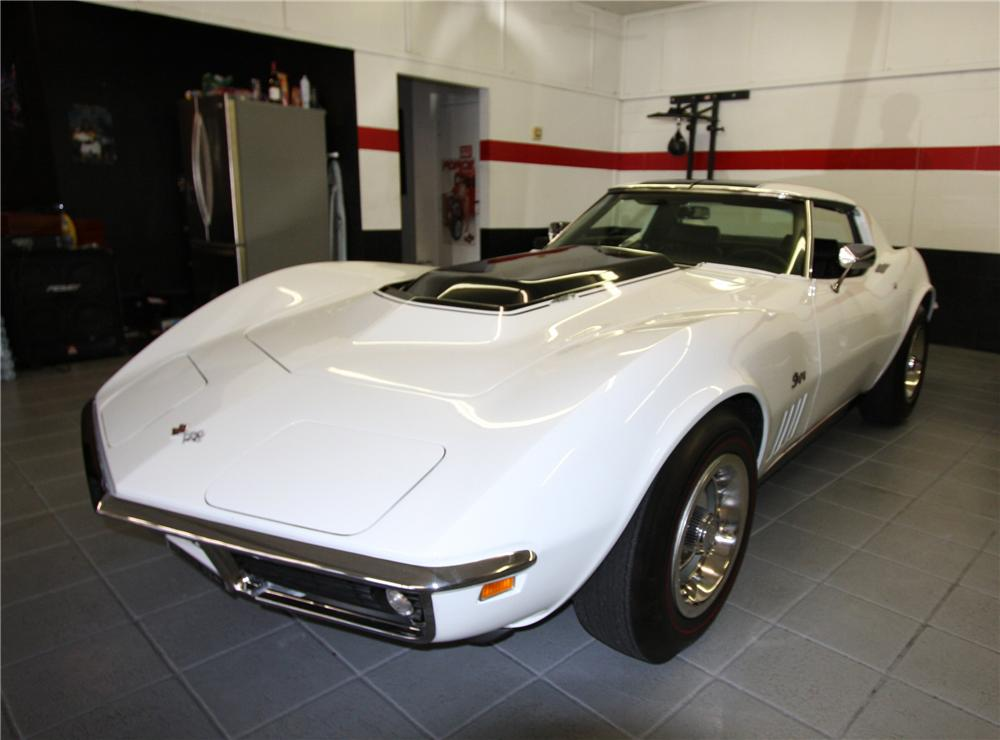 1969 CHEVROLET CORVETTE COUPE ZL1 RE-CREATION - Front 3/4 - 103053