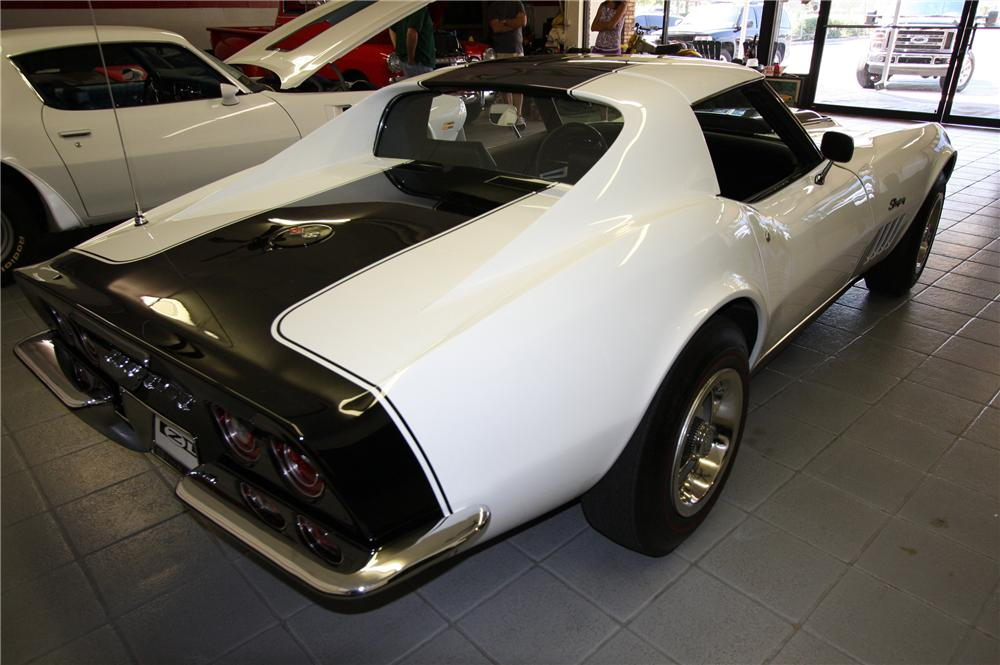 1969 CHEVROLET CORVETTE COUPE ZL1 RE-CREATION - Rear 3/4 - 103053