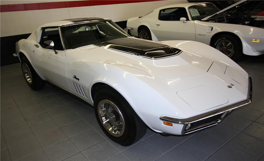 1969 CHEVROLET CORVETTE COUPE ZL1 RE-CREATION - Side Profile - 103053