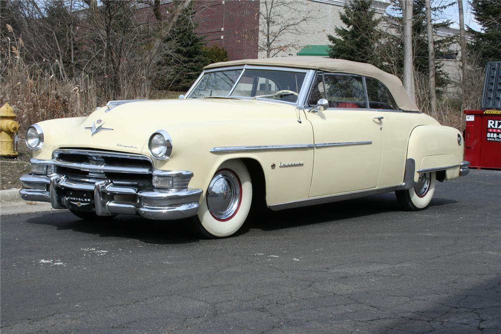 1951 CHRYSLER IMPERIAL CONVERTIBLE - Front 3/4 - 103393