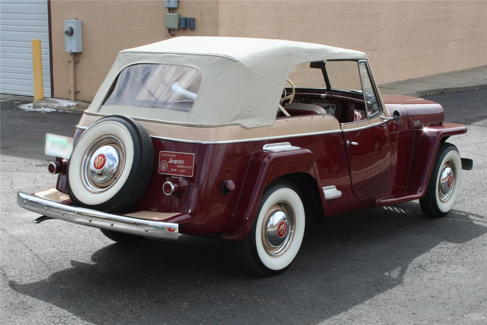1949 WILLYS JEEPSTER CONVERTIBLE - Rear 3/4 - 103413