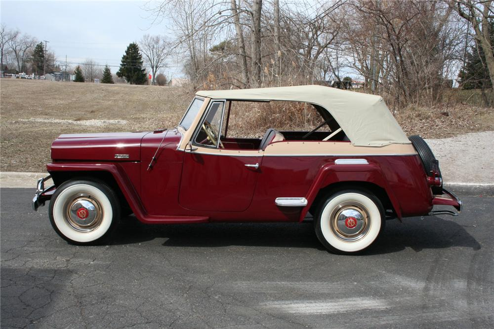 1949 Willys Jeepster Convertible 103413