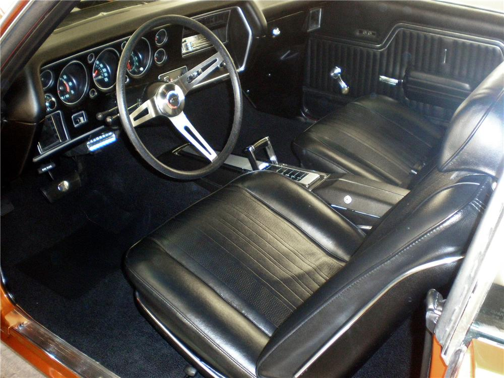 1970 CHEVROLET CHEVELLE SS 2 DOOR COUPE - Interior - 103553