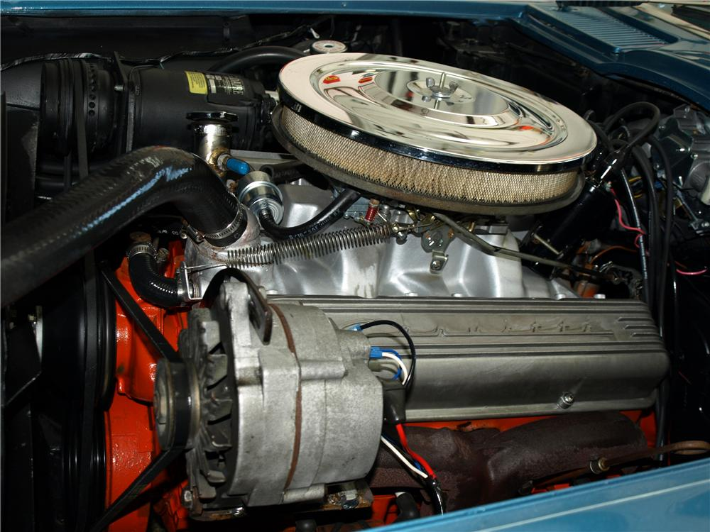 1965 CHEVROLET CORVETTE CONVERTIBLE - Engine - 103633