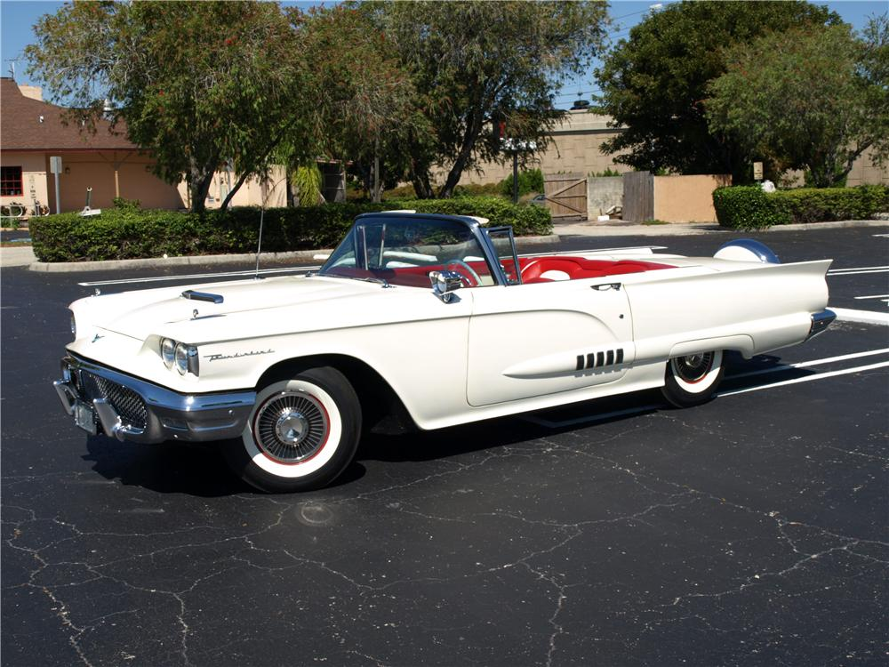 1958 Ford Thunderbird For Sale 1958 Ford Thunderbird