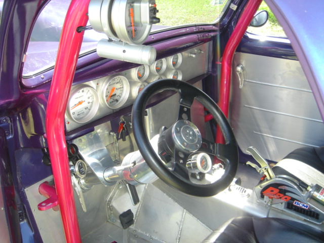1940 WILLYS AMERICAR CUSTOM COUPE - Interior - 103914