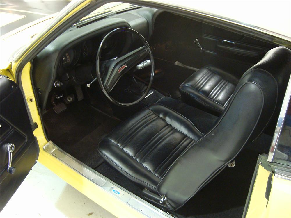 1970 FORD MUSTANG BOSS 302 2 DOOR FASTBACK - Interior - 104133