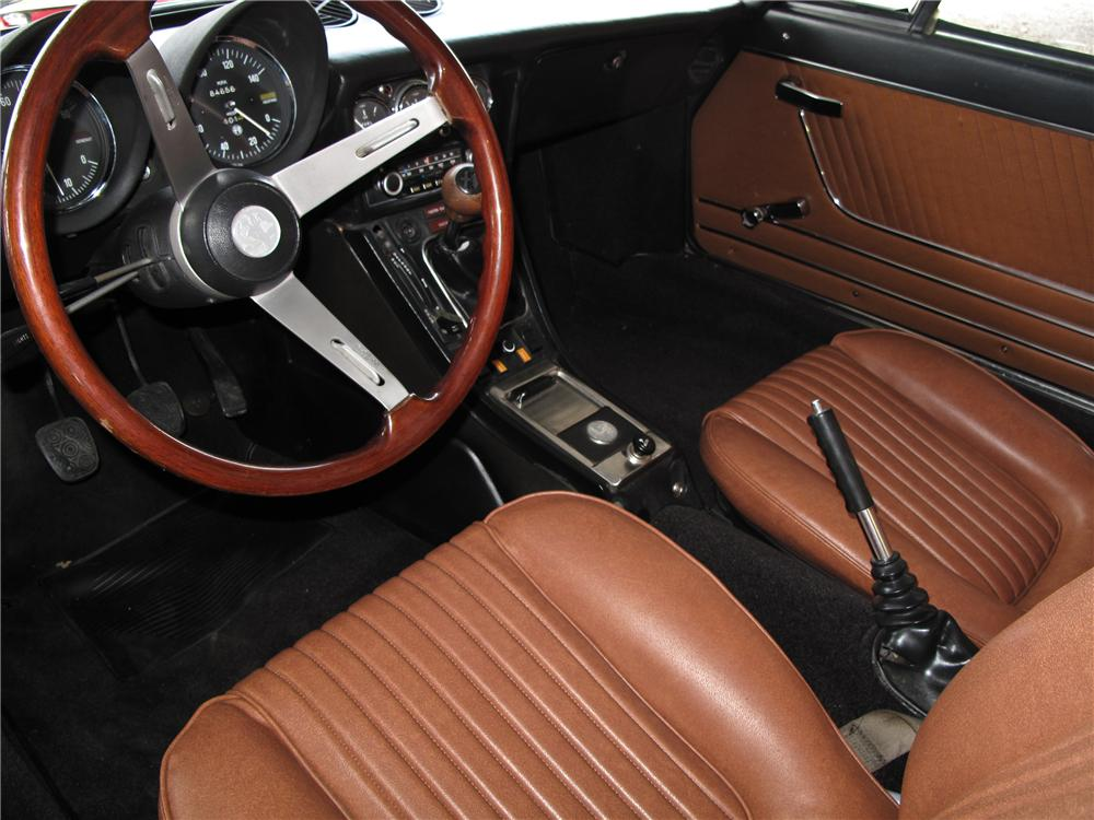 1976 ALFA ROMEO SPIDER CONVERTIBLE - Interior - 104173