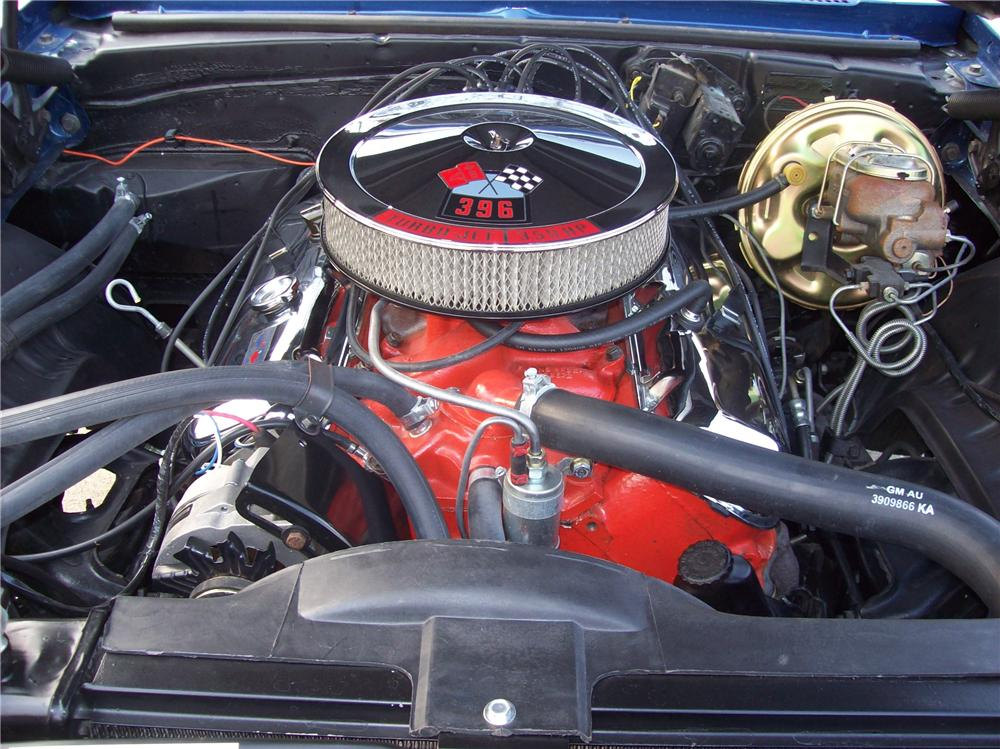 1969 CHEVROLET CAMARO SS 2 DOOR COUPE - Engine - 104233