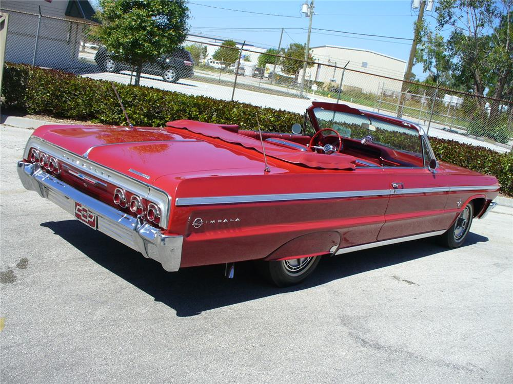 1964 chevrolet impala ss convertible 104433 for Windows 4 sale