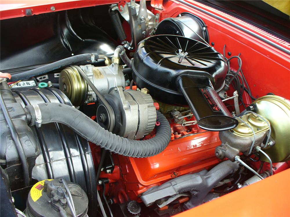 1958 CHEVROLET IMPALA CONVERTIBLE - Engine - 104493