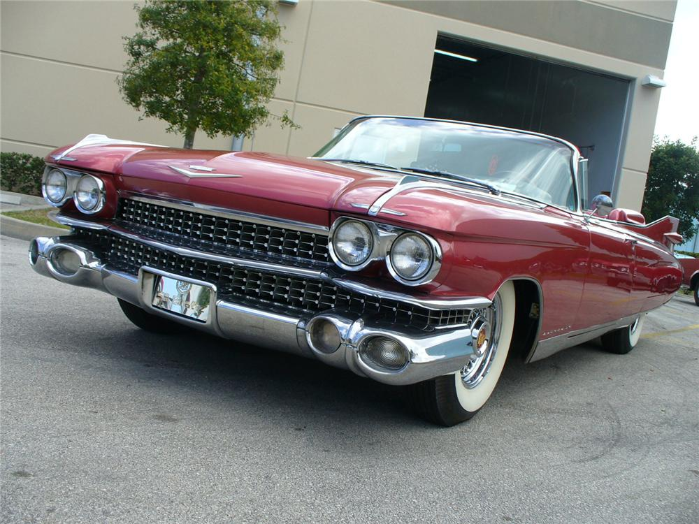 1959 cadillac eldorado biarritz convertible front 3 4 104513. Cars Review. Best American Auto & Cars Review