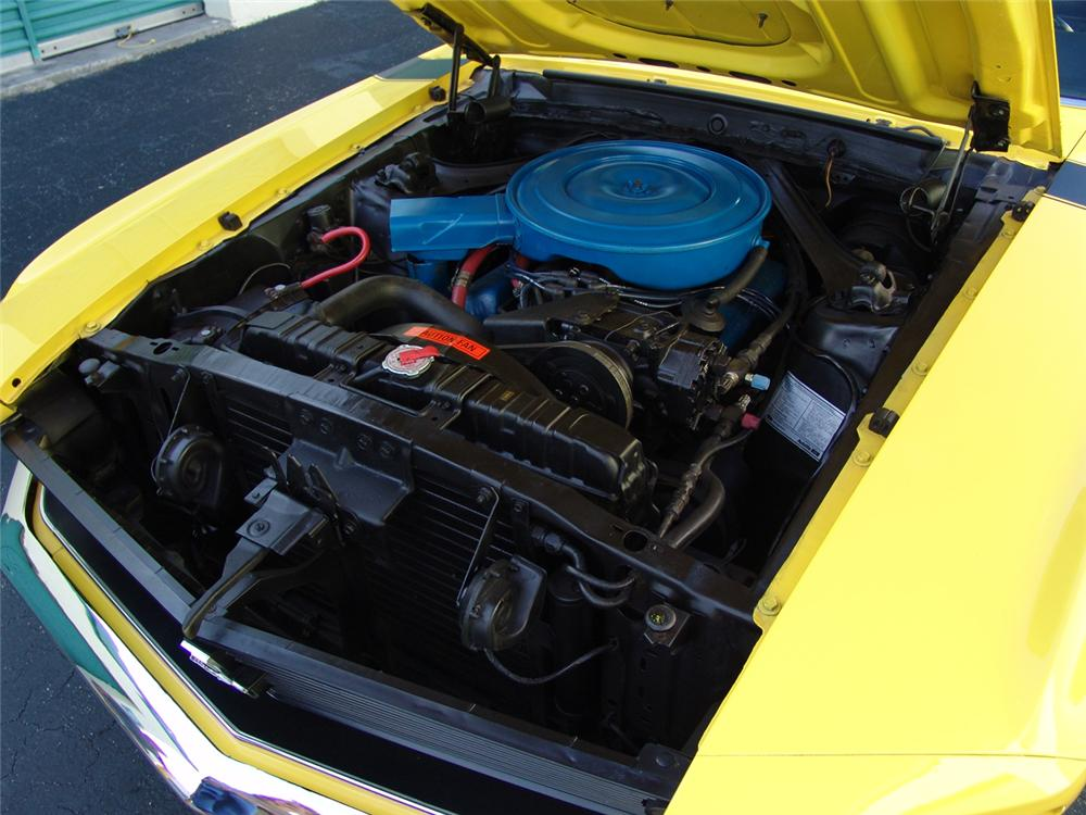 1970 FORD MUSTANG CUSTOM CONVERTIBLE - Engine - 104935