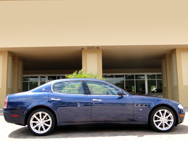 2006 MASERATI QUATTRO PORTE SEDAN - Side Profile - 105154