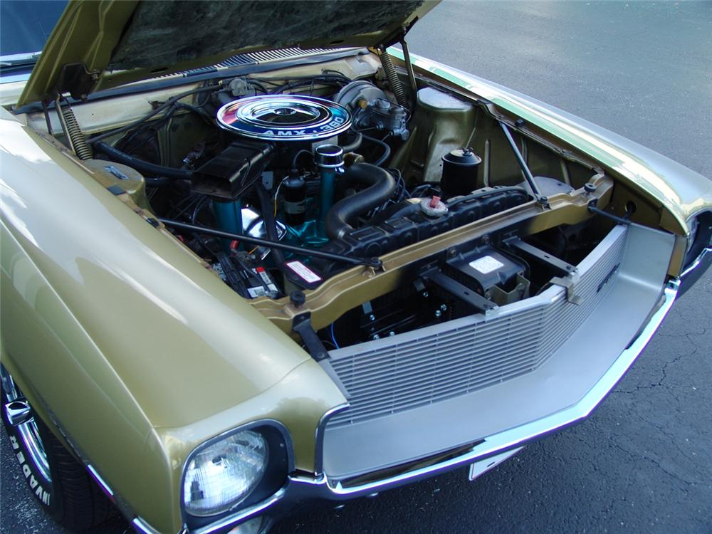 1968 AMERICAN MOTORS AMX COUPE - Engine - 105173