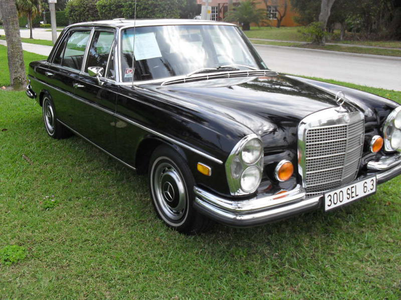 1969 MERCEDES-BENZ 300SEL SEDAN - Side Profile - 105296
