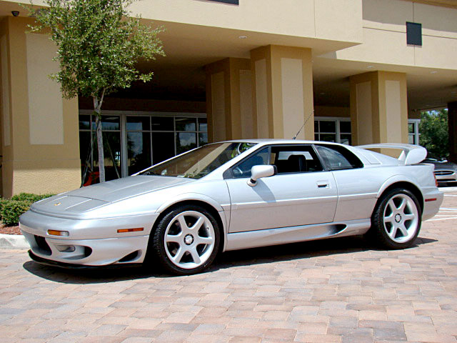 1999 LOTUS ESPRIT TWIN TURBO COUPE - Front 3/4 - 105434