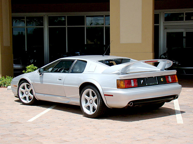 1999 LOTUS ESPRIT TWIN TURBO COUPE - Rear 3/4 - 105434