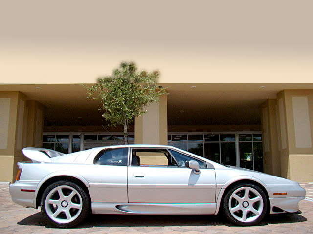 1999 LOTUS ESPRIT TWIN TURBO COUPE - Side Profile - 105434