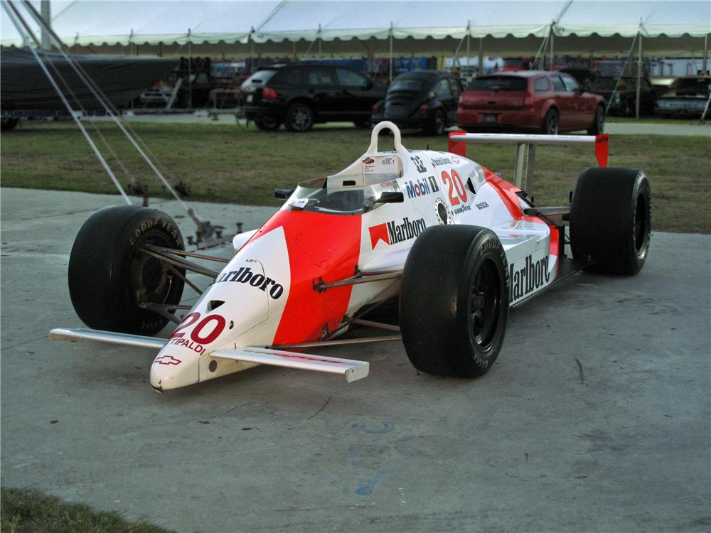 1989 MARCH PC18 RACE CAR - Front 3/4 - 106393