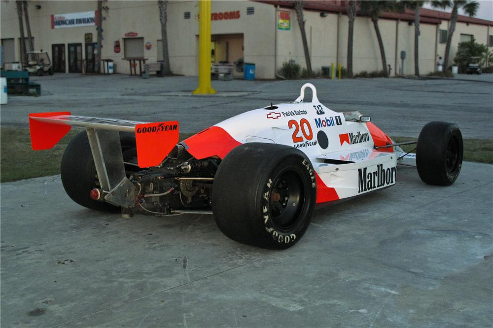 1989 MARCH PC18 RACE CAR - Rear 3/4 - 106393