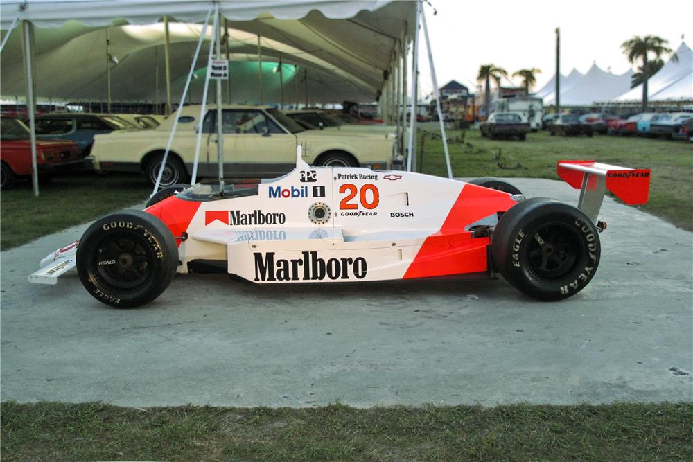 1989 MARCH PC18 RACE CAR - Side Profile - 106393