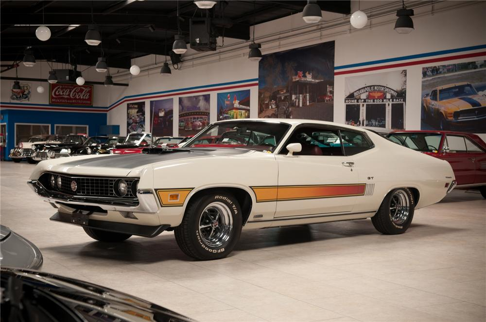 1970 FORD TORINO GT 429 SCJ FASTBACK - Front 3/4 - 108089