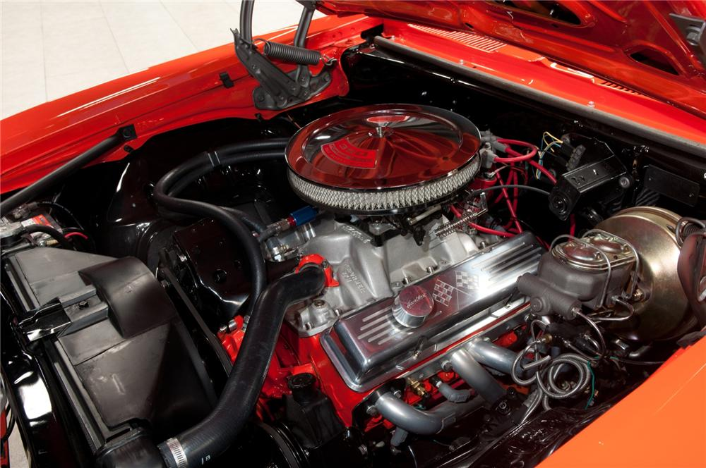 1969 CHEVROLET CAMARO CUSTOM COUPE - Engine - 108094