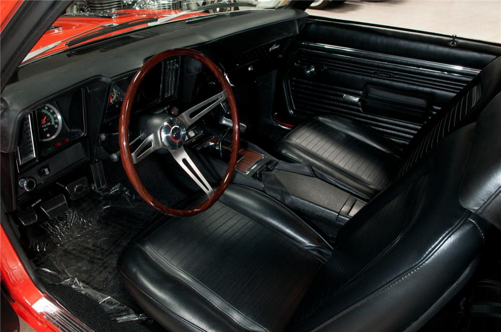 1969 CHEVROLET CAMARO CUSTOM COUPE - Interior - 108094