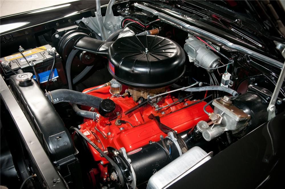 1957 CHEVROLET BEL AIR CONVERTIBLE - Engine - 108101