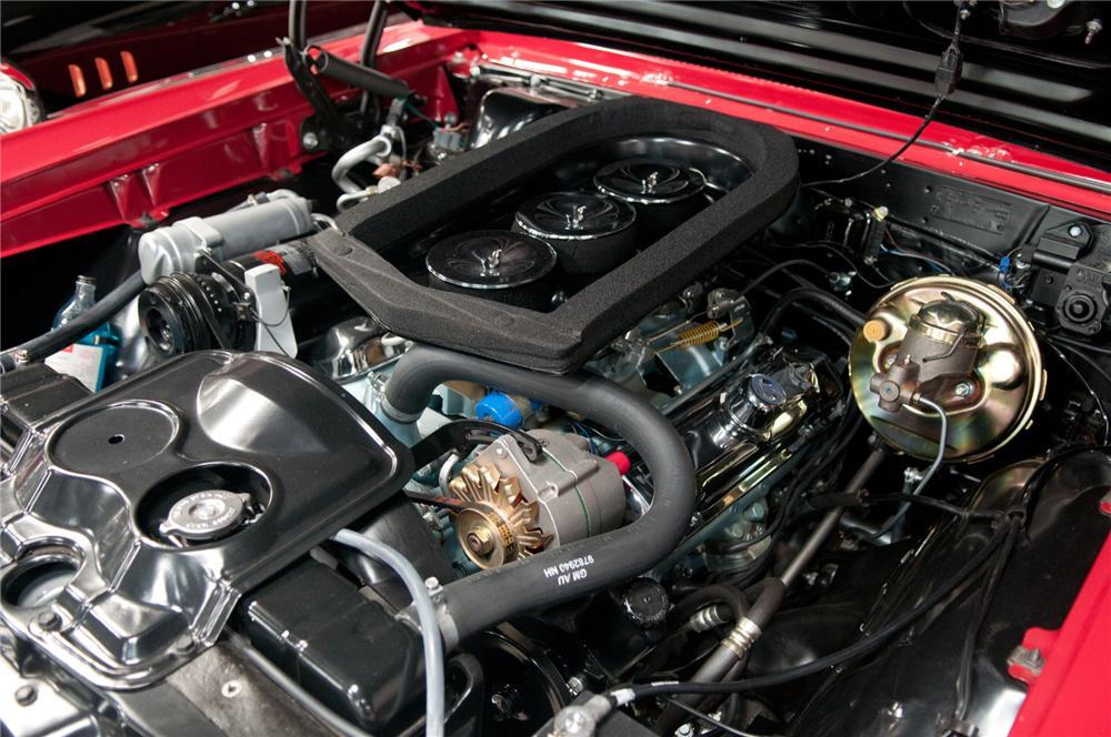 1966 PONTIAC GTO CONVERTIBLE - Engine - 108102