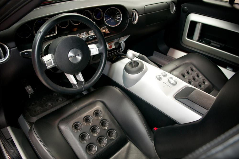 Ford Gt Coupe Interior