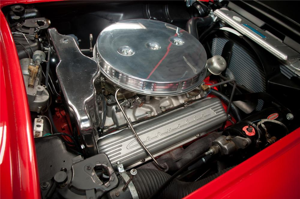 1961 CHEVROLET CORVETTE CONVERTIBLE - Engine - 108116