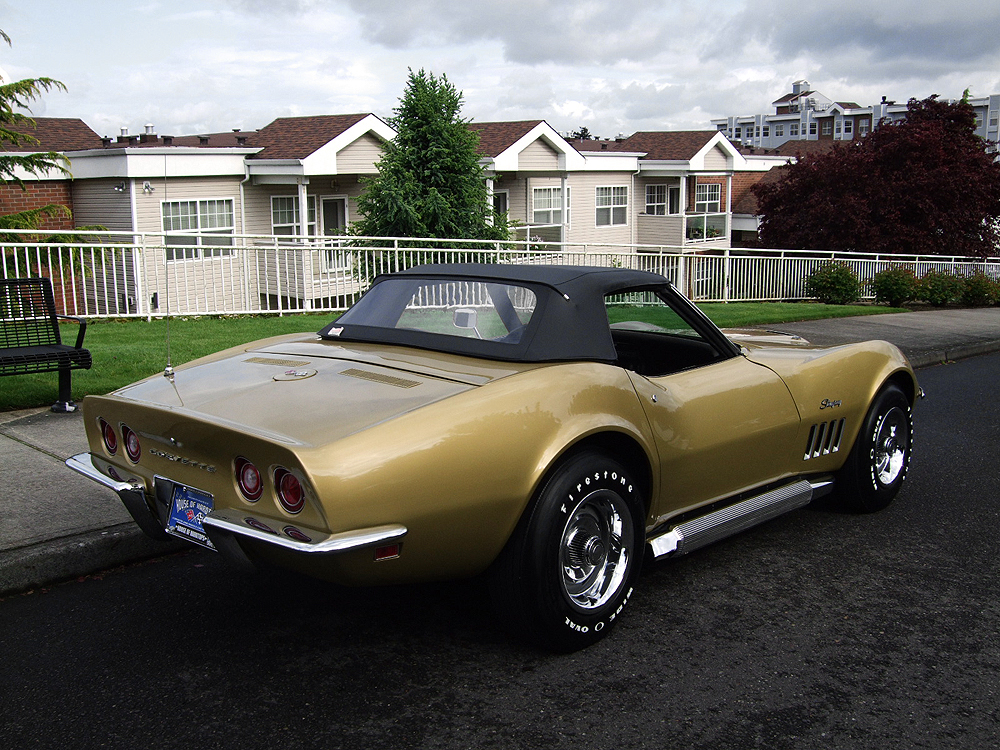 1969 chevrolet corvette convertible 108122. Black Bedroom Furniture Sets. Home Design Ideas